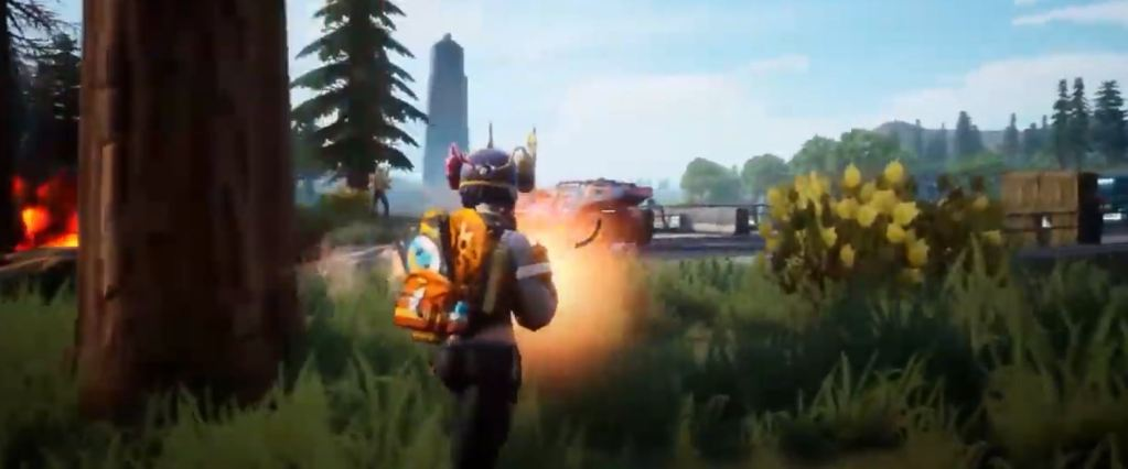 Farlight '84 is a new battle royale with jetpacks and crafting, coming soon