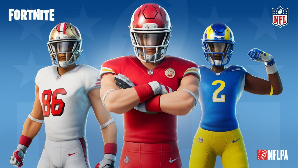 Play Action: New Look NFL Uniforms Arrive in Fortnite