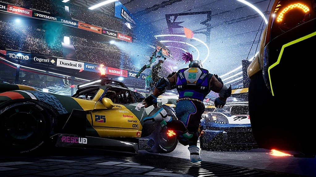 Destruction AllStars review - PS5's PS Plus freebie offers slick but shallow arcade racing carnage • Eurogamer.net
