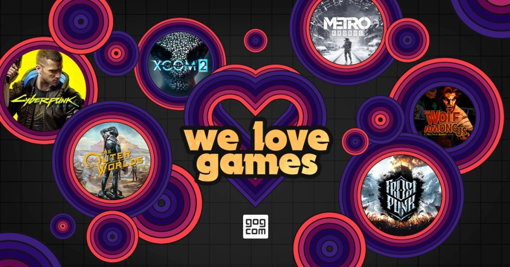 The GOG Valentine's Day sale is live and all about the love of games