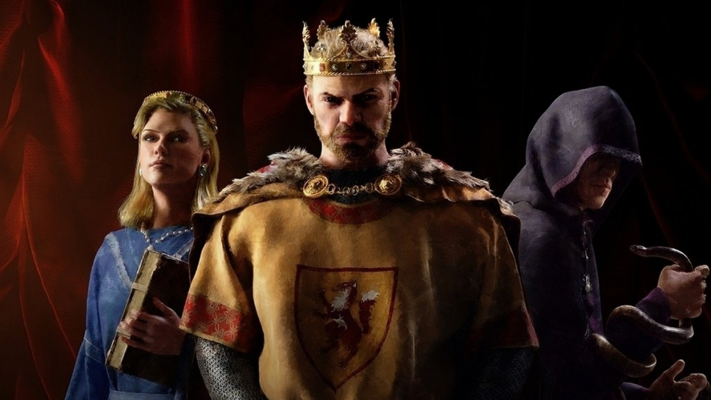 Crusader Kings 3's next update will let you torture people with your awful poetry • Eurogamer.net