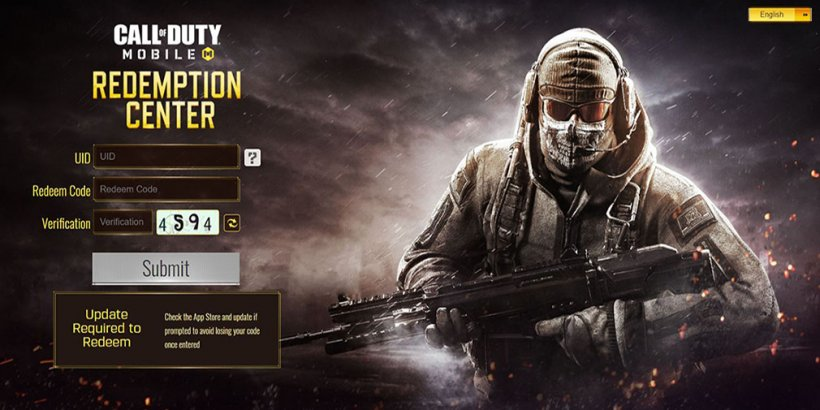 COD Mobile codes to redeem