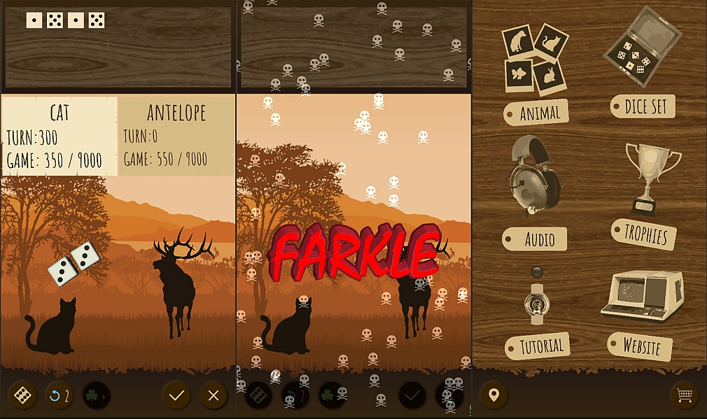 Pocket Gamer: Farkle Safari lets you play the classic dice game and save wildlife at the same time | Articles