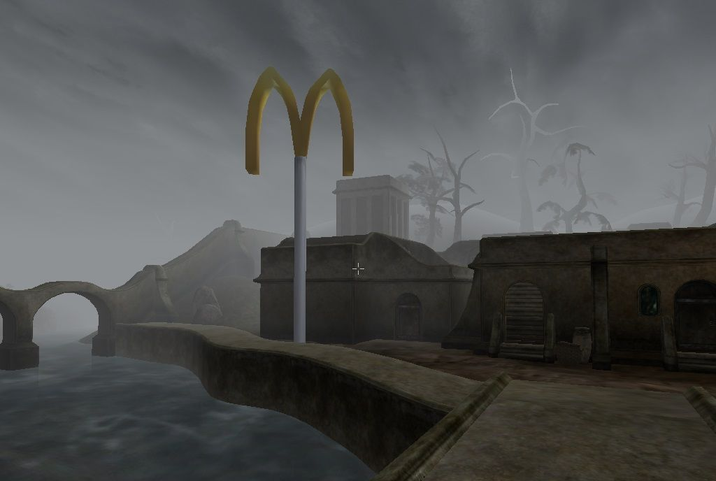 Here's McDonald's, in Morrowind | PC Gamer