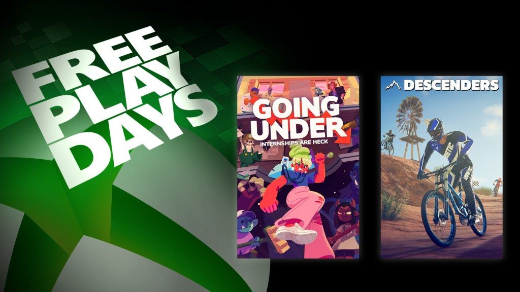 Free Play Days – Going Under and Descenders
