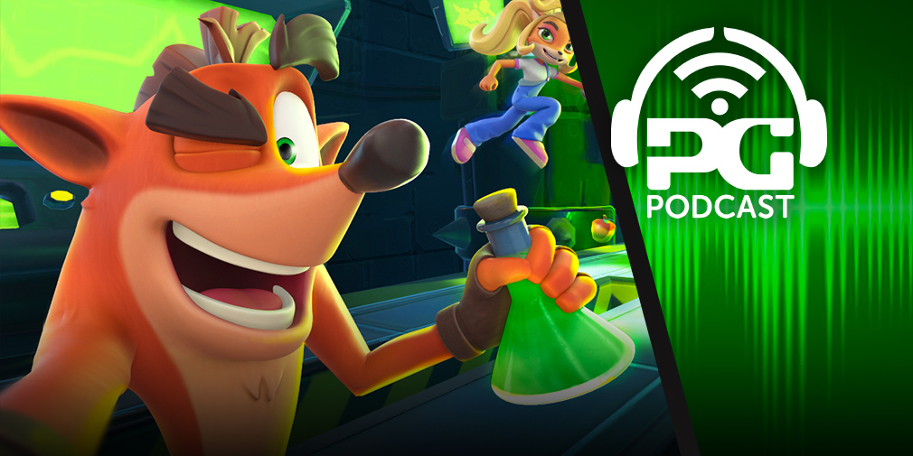 Pocket Gamer Podcast: Episode 546 - Crash Bandicoot: On The Run, Project CARS GO