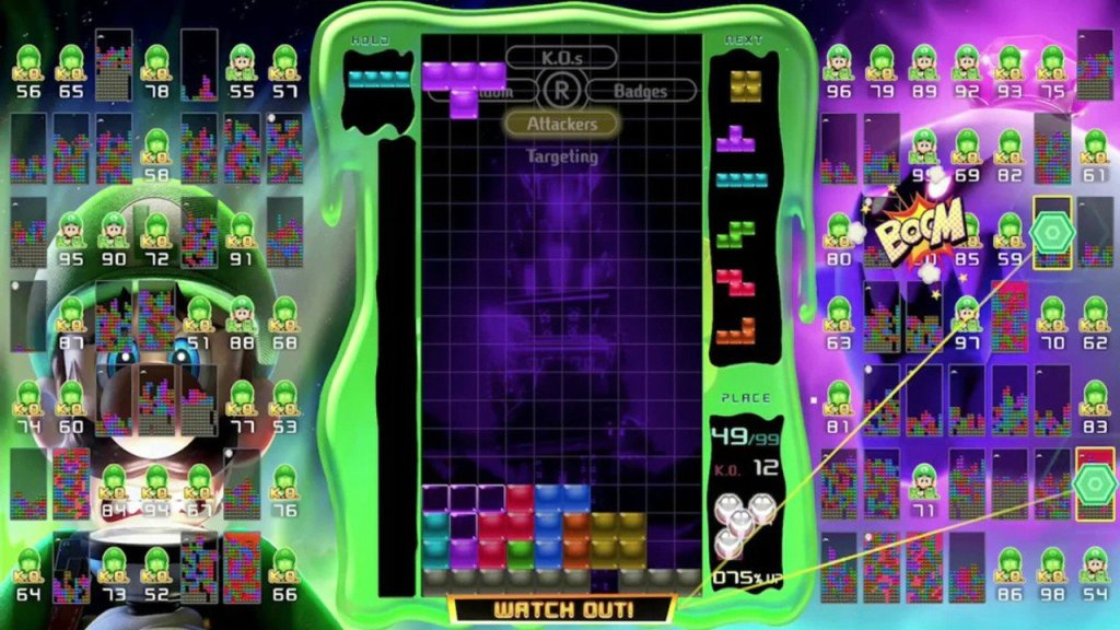 Tetris 99 Now Lets You Exchange Tickets For Event Themes You Missed