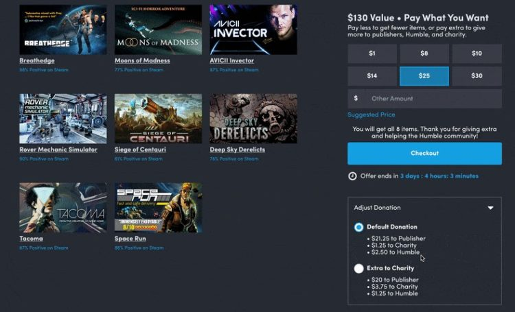 Humble Bundle Rolling Out Slider Changes For Charity To Mixed Reactions (2)