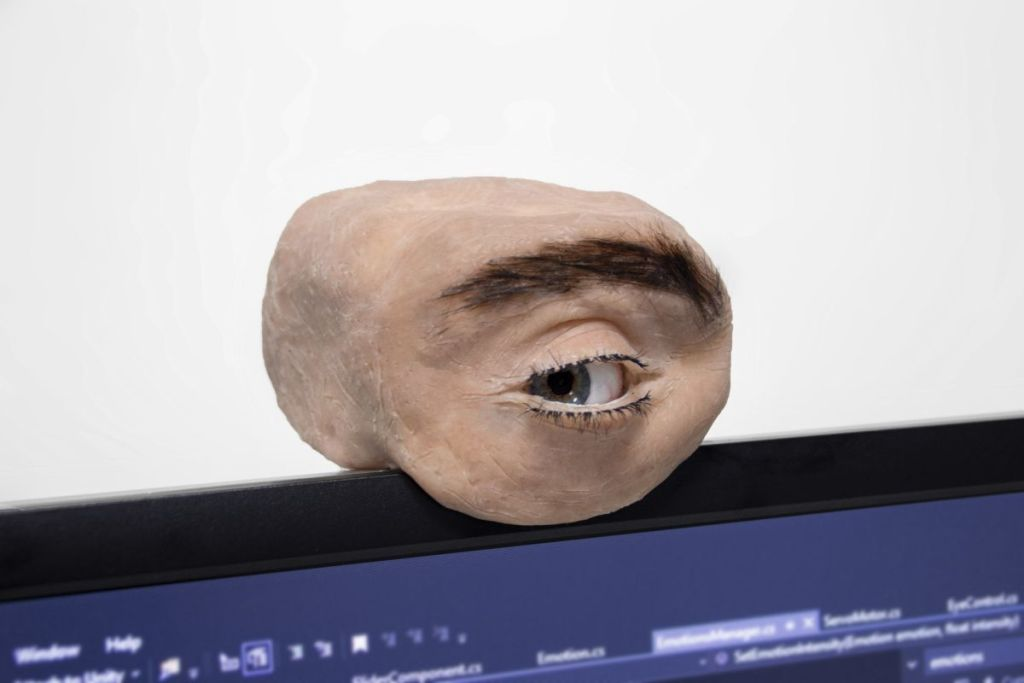 This disgusting webcam modeled after a fleshy human eye is meant to do more than freak you out