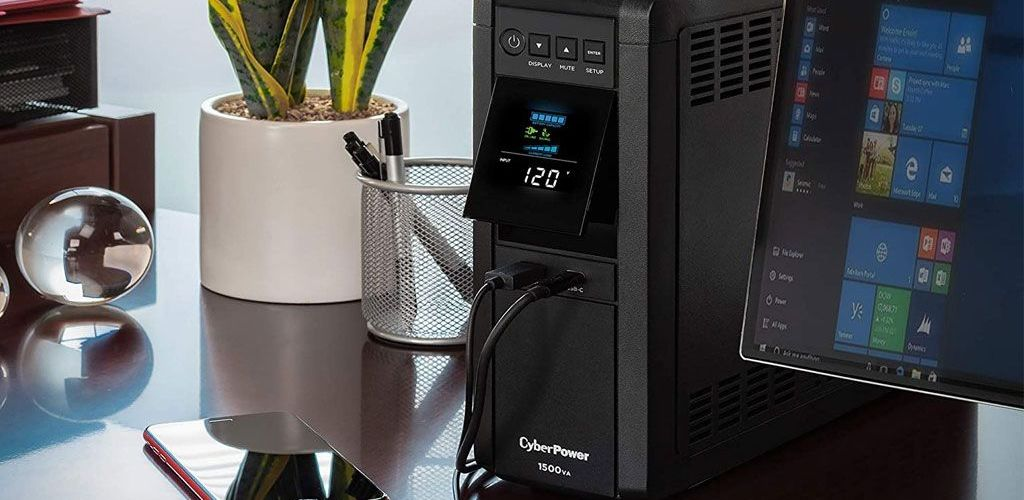 Protect your precious PC hardware with this beefy battery backup for $220