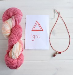 Igni Witcher 3 themed yarn by GamerCrafting