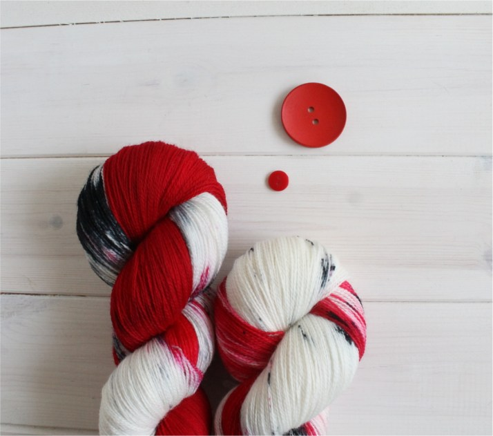 Game of Thrones themed yarns: firea and Blood, Targaryen