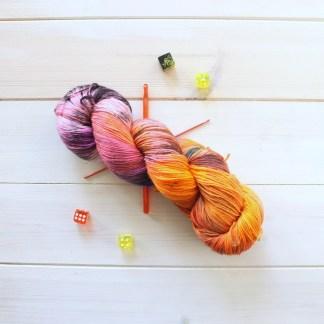 Five By Five: variegated sock yarn