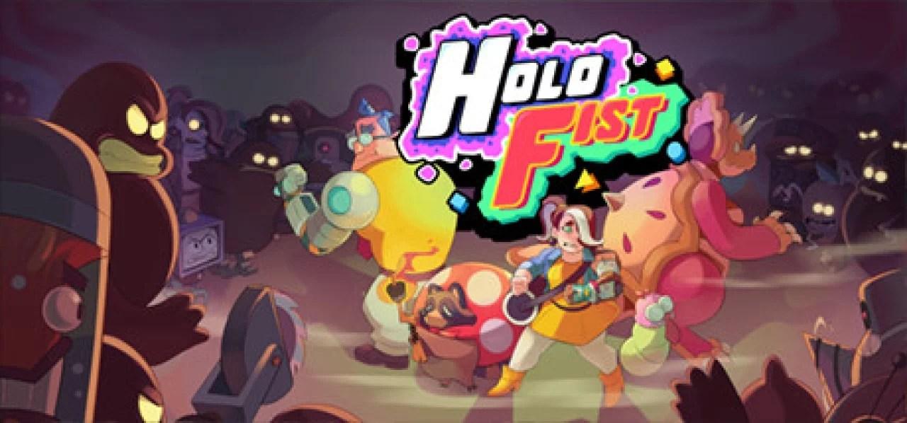 """""""Holo Fist"""" luta estrategicamente com amigos animais adoráveis"""