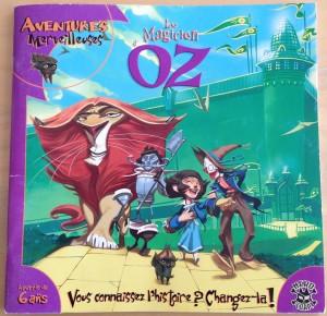 Jeu de rôle le magicien d'Oz pour enfants