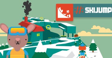 #SkiJump Steam Logo