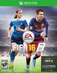 Capa Norte Americana de FIFA 16