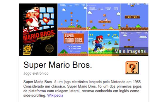 Google lança easter-egg de Mario