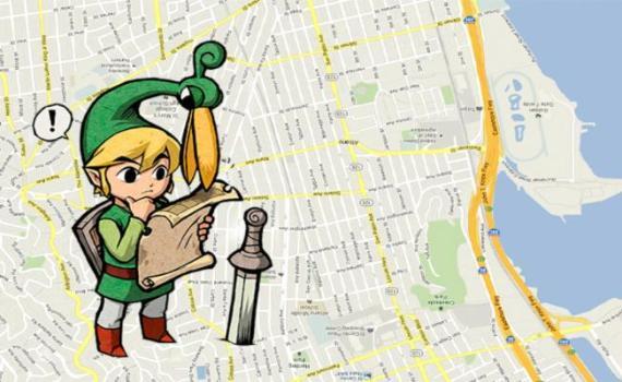 Link é o novo Pegman da google