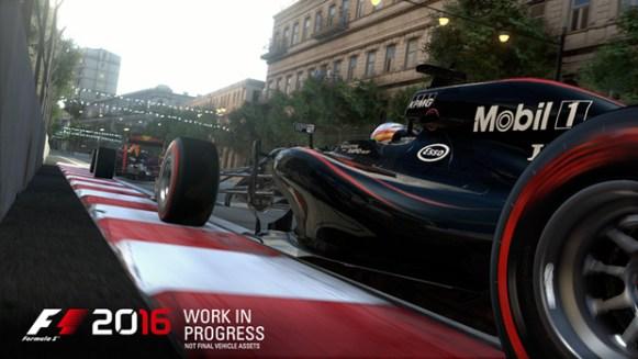 F1 2016 McLaren