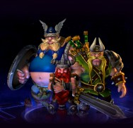 The Lost Vikings, personagens jogáveis de Heroes of the Storm