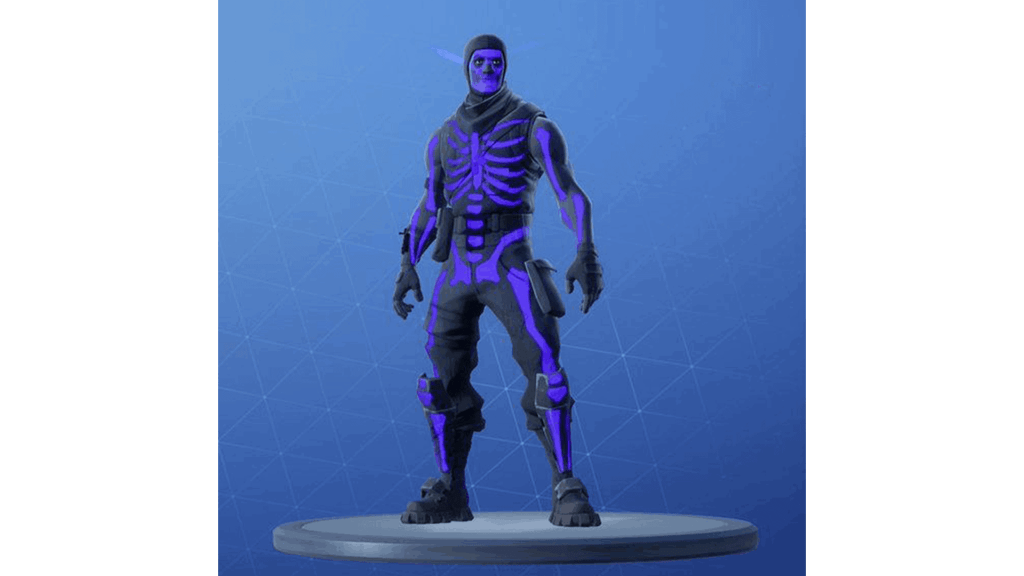 Purple Skull Trooper skin in Fortnite