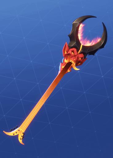 Burning Axe pickaxe Fortnite season 8