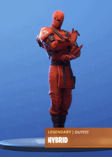 Fortnite Hybrid skin stage 1 season 8 battle pass