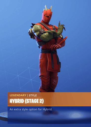 Fortnite Hybrid skin stage 2 season 8 battle pass