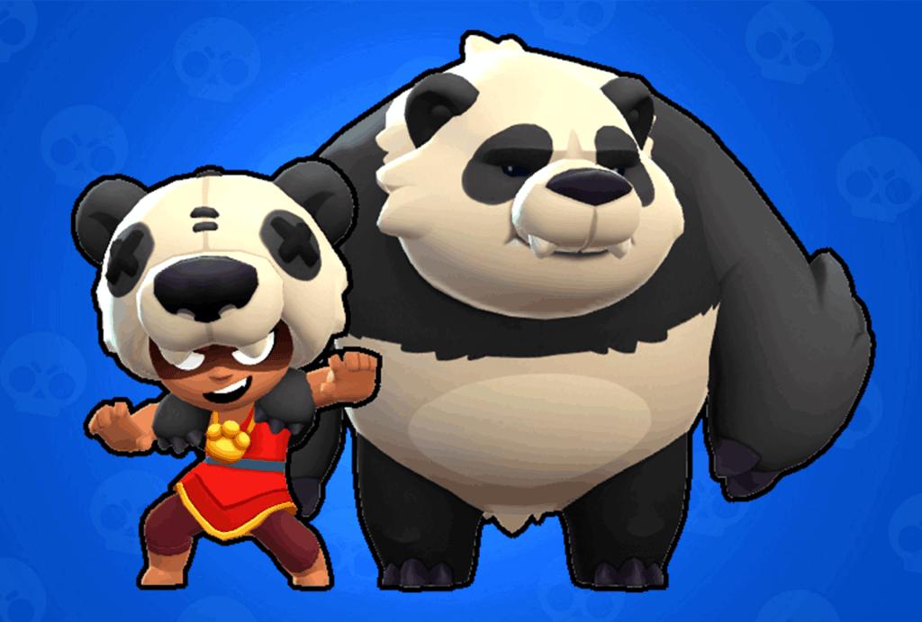 Nita Panda skin Brawl Stars