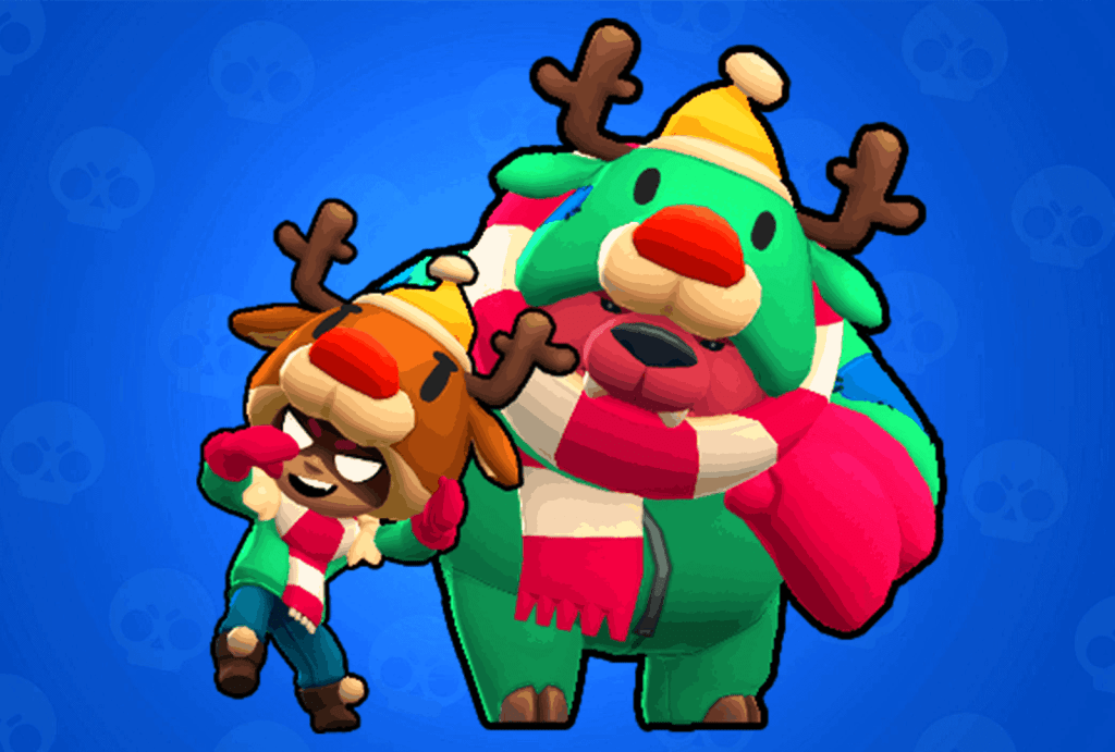 Nita Red Nose skin Brawl Stars