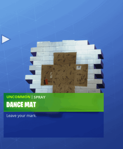 Tier 26 Dance Mat spray