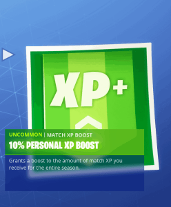 Tier 33 10% personal XP boost