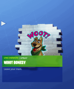 Tier 44 Woot Bonesy spray