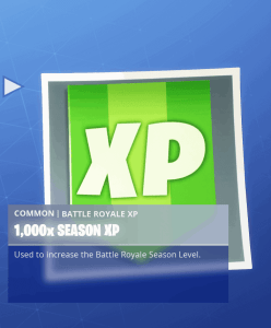 Tier 45 1000x Season XP