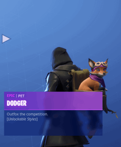 Tier 52 Dodger back bling