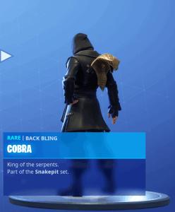 Tier 7 Cobra back bling