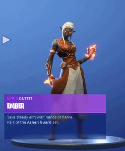 Tier 71 Ember skin