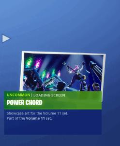 Tier 74 Power Chord loading screen