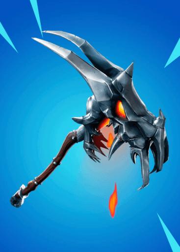 Demon Skull pickaxe Fortnite season 8