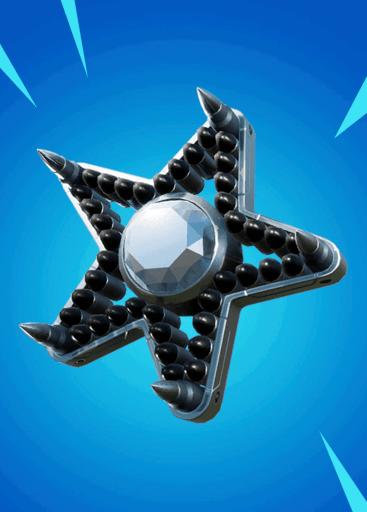 Diamond Star back bling Fortnite season 8