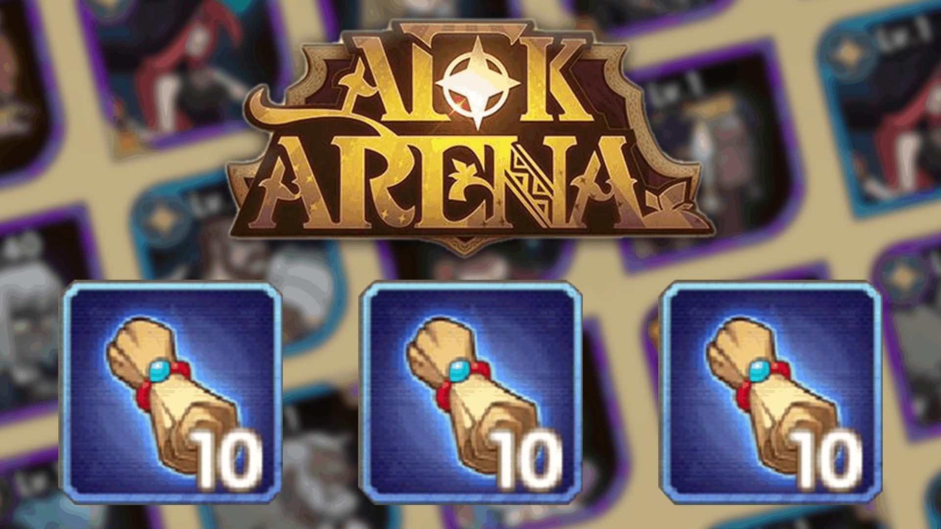 AFK Arena – How To Get Common Hero Scrolls