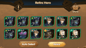 How To Retire Heroes – AFK Arena