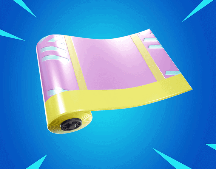 Pastel Print wrap fortnite season 8