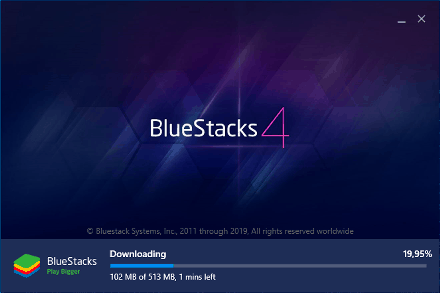 Bluestacks installer ML Adventure