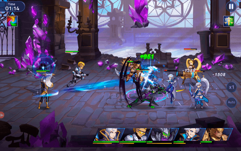 Mobile Legends Adventure gameplay screenshot