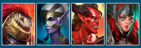 Raid Shadow Legends best team for arena Rhazin Scarhide Rae Lord Shazar Arbiter
