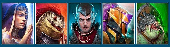 Raid Shadow Legends best team for fire knight Martyr Rhazin Scarhide Apothecary Pain Keeper Steelskull
