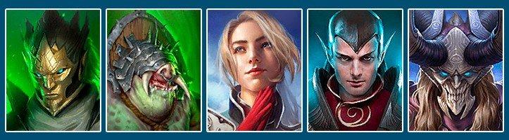 Raid Shadow Legends best team for ice golem Tayrel Steelskull Juliana Apothecary Prince Kymar