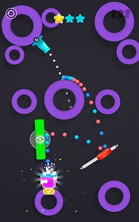 Cannon shot gameplay screenshot